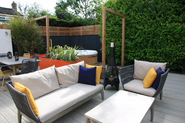 Mr & Mrs Watson, Back Garden design and landscape in Beaconsfield 5